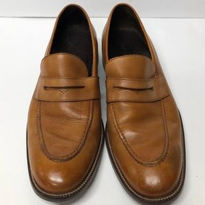 Cole Haan Tan Leather Loafers SZ 9 Med